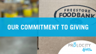 Our Commitment To Giving: The Freestore Foodbank